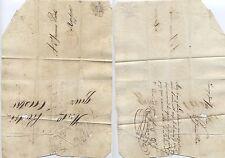 Carta prefilatélica. Monforte, Junio 1828.