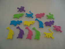 Bright couleur mousse autocollants thème 8 /'s à choisir Amour Animaux chiffres mer