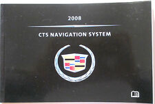 GM 2008 Cadillac CTS Navigation Manual #25813124B