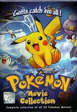 DVD Anime Pokemon 22 Movies Complete Collection English Version
