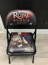 WWE Royal Rumble 2016 Ringside Chair - Roman Reigns - New