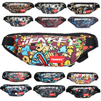 Festival Cycling Bum Bag Fanny Pack Travel Holiday Waist Belt Pouch Money Wallet