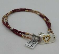 New Brighton SEEDS 4 THE SOUL Heart Necklace / Bracelet / Anklet JB9210  NWT