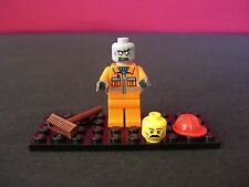 Lego Zombie Walking Dead City Construction Worker!