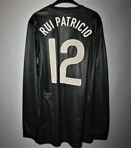 PORTUGAL NATIONAL TEAM #12 RUI PATRICIO MATCH WORN PREPARED 2012 JERSEY SHIRT