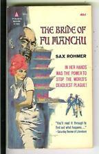 BRIDE OF FU MANCHU by Sax Rohmer, Pyramid #F761 Asian crime gga pulp vintage pb