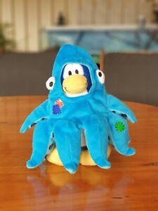 Club Penguin Disney Plush Octopus
