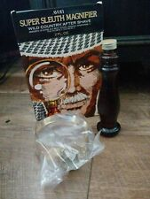 Avon Super Sleuth Magnifier Magnifying Glass - Wild Country After Shave 2 fl oz