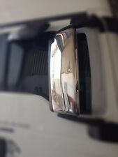 MAN TGX TGS Mirror Covers Super Polished Stainless Steel 2 Pcs
