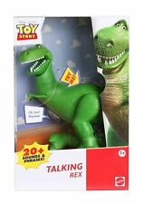 """Disney Toy Story 4 TALKING REX 7"""" Action Figure (20+ Sounds & Phrases!)"""