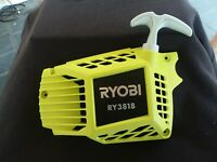 Ryobi Chainsaw RY3818 STARTER HOUSING ASSEMBLY -w/LABEL  OEM # 313867001