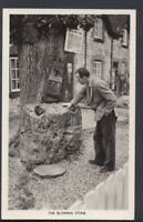 Oxfordshire Postcard - The Blowing Stone, Kingston Lisle   T313