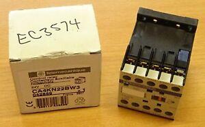 TESYS Telemecanique CA4 KN22BW3 Hilfsschütz 24V Contaktor Relay Schütz Relais