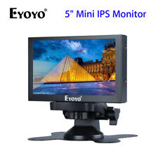 "SMALL 5"" Inch IPS VIDEO AUDIO MONITOR DISPLAY BNC VGA FOR FPV CCTV Security AU!"