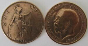 1911-1936 | George V One Penny | Choose Your Year | Free Postage + Discounts