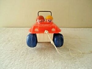 "Vintage 1973 Fisher Price Bouncing Buggy "" GREAT COLLECTIBLE DISPLAYABLE ITEM """