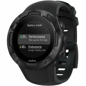 SUUNTO 5 GPS Sports 46mm Smart Watch | Heart Rate Monitor  (All Black)