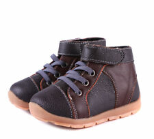 Boys Brown Leather Boots