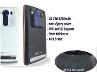 Mugen Power Extended Life Battery 6200mAh&Door For LG V10 Verizon AT&T T-Mobile