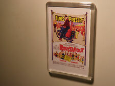 ELVIS PRESLEY      ROUSTABOUT   FILM POSTER  FRIDGE MAGNET