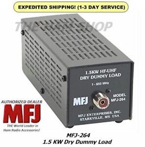 MFJ 264 Dummy Load, Legal Limit - 1500 Watts, Range 0-650 MHZ, Dry - NEW