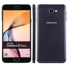 "BRAND NEW  SAMSUNG GALAXY J7 PRIME BLACK 5.5"" UNLOCK 16GB DUAL SIM 4G LTE 2017"