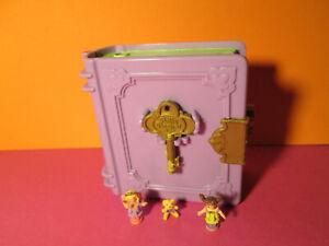Polly Pocket Mini ♥ Glitzer Buch ♥ Polly´s Toy Land ♥ 1996 ♥ 100 % Komplett ♥rar