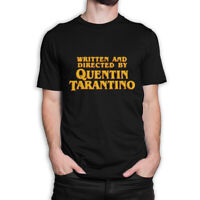 Written and Directed by Quentin Tarantino T-Shirt, Premium Cotton Tee