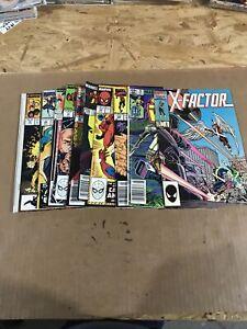 Marvel Comics 80S Mixed Lot (E) 10 Ct
