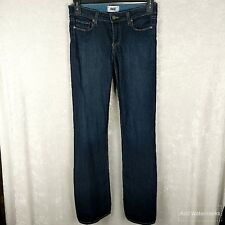 PAIGE SKYLINE BOOTCUT SIZE 28/35 DARK WASH DENIM JEANS