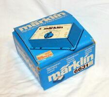 Marklin 6631 TRASFORMATORE 220 Volt 50 Hz 30 VA TRENINO ELETTRICO H0 TRANSFORMER