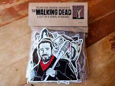 Set of 4 The Walking Dead Vinyl Stickers, UV Inks , Waterproof, High Gloss
