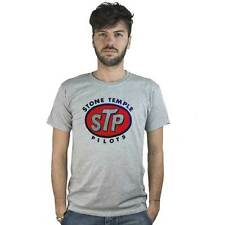T-Shirt STP Stone Temple Pilots, maglietta grigia Rock grunge, musica, Seattle