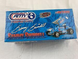 RARE 1/24 Sammy Swindell #1 1-800-Be-Petty Winged Sprint Car Ltd Ed w/COA SNIB