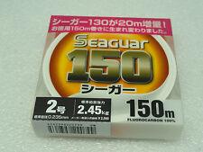 SEAGUAR 100% FLUOROCARBON JAPAN # 2 KUREHA LINE U.S. 8 lb 150m/165yds