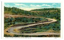 Scenic Highway, Raton Pass, Raton, NM Postcard *232