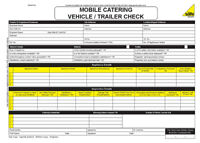 ENGINEER GAS SAFETY CHECK VEHICLE TRAILER INSPECTION CERTIFICATE PAD 50 SET BOOK