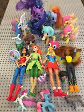 My Little Pony & DC Superhero Girls Mixed Action Figure Lot~Wonder Woman