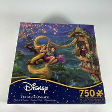 Thomas Kinkade Disney Tangled Up in Love 750 Piece Puzzle by Ceaco