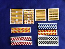 1:50 Scale Inkjet Waterslide Decals, Code 3 Job Lot, Heavy Haulage, Tekno, Wsi