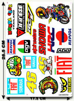 Valentino Rossi Stickers Motocross The Doctor MX RC Toys Turtle 46 MotoGP Decals