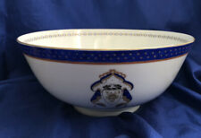 New listing Chinese Export Porcelain Large Bowl American Federal Market Statement Piece Vtg