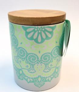 Davids Tea Collectible Mandala Print Coffee Tea Cup with Lid