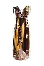 Women Exotic Pattern FishTail Style Summer Beach Sundress Evening/Party Dress