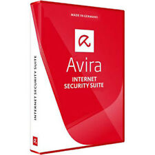 Avira Internet Security Suite 2018 - 3 Device - 1 Year - Key Code Same Day USA
