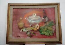 Paolo Chellini Natura morta still life quadro olio su tela oil on canvas 50x70cm