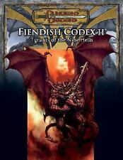 D and D Supplement: Fiendish Codex II : Tyrants of the Nine Hells by Robin D. L…