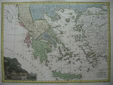 1812 LAPIE - Map GREECE  CRETE  SEA OF MARMARA