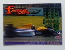 1995 Futera Australian F1 Grand Prix Fastest Laps card #FL9 Damon Hill