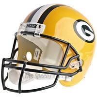 GREEN BAY PACKERS RIDDELL VSR4 NFL FULL SIZE REPLICA FOOTBALL HELMET